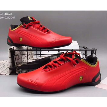 Puma men Ferrari limited edition limited edition sports shoes F-A36H-MY Red