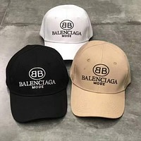 Balenciaga 2018 new fashion wild casual hat outdoor visor cap F-A-KEN-CP