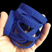 """Fuck Trump"" Wristbands 10 Pack"