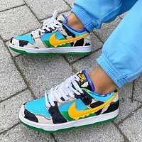 Alwayn NIKE SB Dunk Low Retro Trending Women Men Leisure Milk Ice Cream Sport Shoes Sneakers