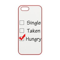 Custom Single Taken Hungry Cute Cool Funny iPhone 5 | 5S Case