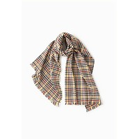 Plaid Houndstooth Scarf (last one!)