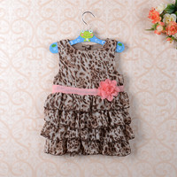 Baby Girls Leopard Print Dress