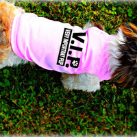 Small Dog Clothing. VIP - Very Important Pup Dog Tank Top. Pet Clothes. Custom Dog Apparel. Puppy Clothes.