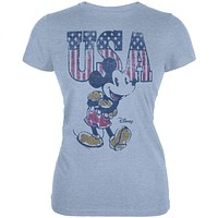 Mickey Mouse - USA Mickey Juniors T-Shirt