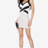 Crossed Out Bodycon Dress