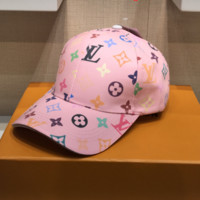 Louis Vuitton Embroidered Baseball Cap Hat