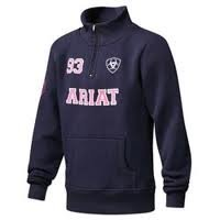Ariat International Ariat® Indio Logo 1/4 Zip Pullover $ 49.95 Casual Clothing - Dundas, Ontario, Canada