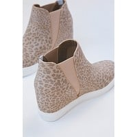 Lure Hidden Wedge Slip On Sneaker, Taupe Leopard | Coconuts by Matisse
