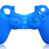 Silicone Case for PS4 Controller (Blue)