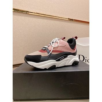 dior fashion men womens casual running sport shoes sneakers slipper sandals high heels shoes 158