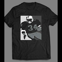 BO JACKSON CUSTOM ART PRINT SHIRT