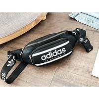 NIKE x ADIDAS x GUESS stylish casual bag for men and women hot seller of different color letter Fanny packs Black ADIDAS
