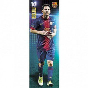 F.C. Barcelona Door Poster Messi 104