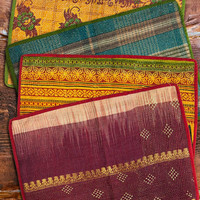 Wonderland Vintage Kantha Placemat Set of 2