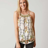 COCO + JAIMESON HIGH NECK TANK TOP