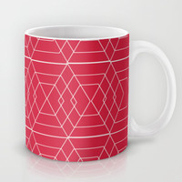 giving hearts giving hope: red hex Mug by Vy La