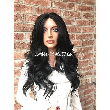 "Tracey Messy Waves 22"" Lace Front Wig"