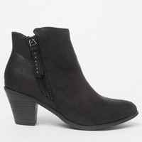 NYLA Shoes Tassle Faux Leather Booties at PacSun.com
