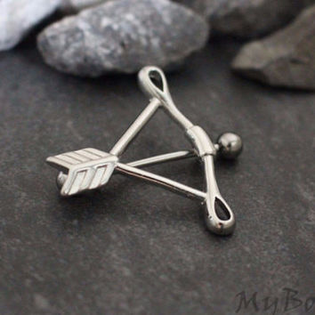 Arrow Nipple Ring