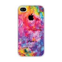 iZERCASE Colorful rubber iphone 4 case - Fits iPhone 4 & iPhone 4s T-Mobile, Verizon, AT&T, Sprint and International