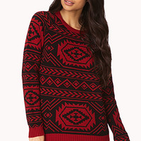 FOREVER 21 Out West Raglan Sweater