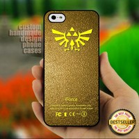 The Legend of Zelda iForce - Print on Hard Cover for iPhone 5