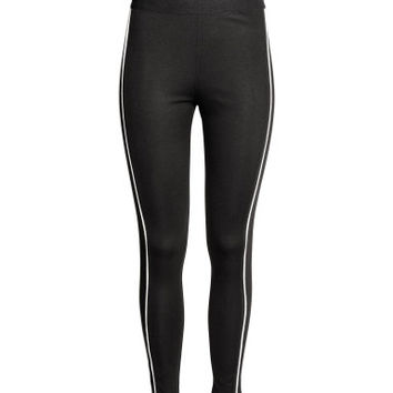 H&M Leggings with Side Stripes $14.99
