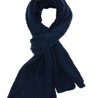 Blue Chunky Sweater Knit Scarf by Charlotte Russe