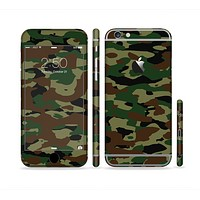 The Traditional Camouflage Sectioned Skin Series for the Apple iPhone6s Plus