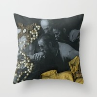 The Incredulity of Saint Thomas Throw Pillow by Alayna H.