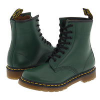 Dr. Martens 1460 W Green Smooth - Zappos.com Free Shipping BOTH Ways
