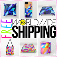 Free Shipping Sitewide - ends July 27th 2014 by House of Jennifer | Society6