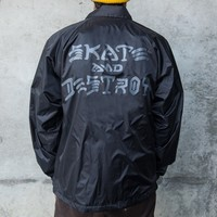 Thrasher Magazine Shop - Skate and Destroy Coach Jacket - Clothing