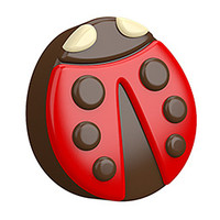 Guest Mini Lady Bug Mold | Bramble Berry® Soap Making Supplies