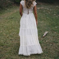 Gorgeous Cream Ivory French lace wedding dress by Graceloveslace