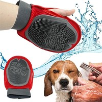 Magic Soft Grooming Dog deShedding & Massaging Glove Brush