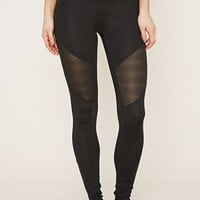 Active Shadow Stripe Leggings | Forever 21 - 2000169102