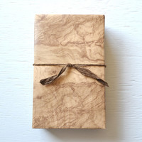 10 feet OLIVE WOOD wrapping paper, 30 inches x 10 feet, gift wrap, decorative paper, masculine wrapping paper