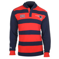 New England Patriots Official NFL Cotton Rugby Hoody