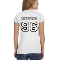 Austin Mahone Ladies Softstyle Junior Fit Tee Cotton Jersey Knit Gift Shirt Mahomie