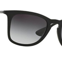 Cheap NEW Authentic Ray-Ban RB4221-622/8G Unisex Gray Lens HIGHSTREET Black Sunglasses outlet