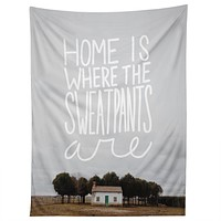 Craft Boner Home is where the sweatpants are Tapestry