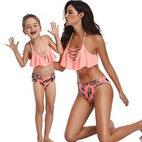 Mother Daughter Matching Sexy Swimsuit 68