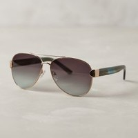 Olivia Aviators by Anthropologie Green Motif One Size Accessories