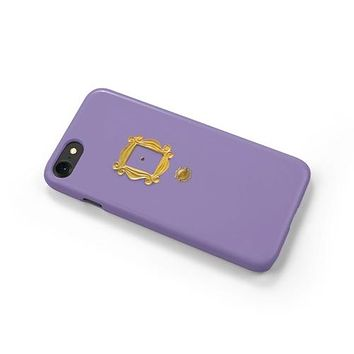 Friends Purple Door Monica's Door iPhone Case