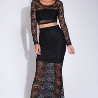 Duo M.G. Lace Two-Piece Dress (more colors)
