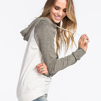 Volcom Lived In Womens Hoodie Cream Combo  In Sizes