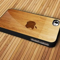 wooden case For Apple Phone, IPhone 4/4S Case, IPhone 5 Case, Cover Plastic