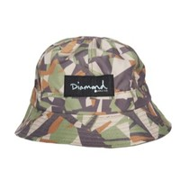 Diamond Supply Co Simplicity Reversible Bucket Hat - Men's at CCS